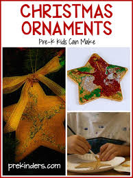 ornaments for preschool prekinders