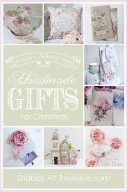 handmade gifts for christmas shabby art boutique