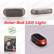 security led lights car best price anti theft solar flashing strobe l alarm security red