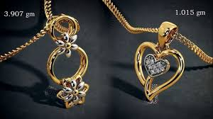 gold pendant fashion necklace images Beautiful gold pendant design for 2018 images photo with weight jpg