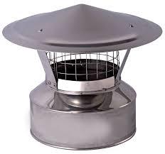 cap with spark arrestor fireplace parts chimney parts