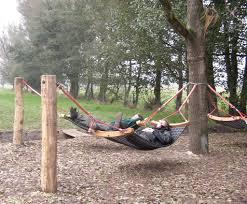 robinia hammock swing caledonia play