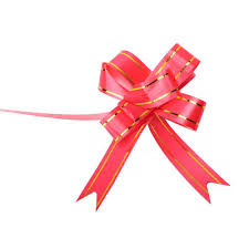 pull ribbon decorative pull bow ribbon at rs 50 packet gift wrapping