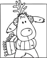 imagenes animadas de renos de navidad fotos de dibujos de navidad para colorear reno dibujos animados