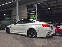 stanced bmw m4 liberty walk widens the bmw m4