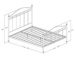 furniture twin size dimensions alaskan king frame sizes in