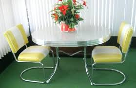 Retro Kitchen Table Sets by Yellow Retro Kitchen U2013 Fitbooster Me