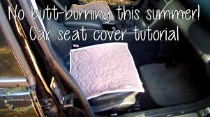 Do It Yourself Car Upholstery How To Diy Car Seat Cover Tutorial Youtube