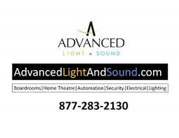advanced lighting and sound sponsors