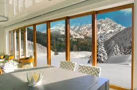 lift and slide patio door wooden aluminum double glazed ts