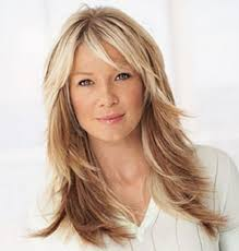 long hairstyles with bangs for women over 40 long layered haircuts for women over 40 wavy layered hairstyles