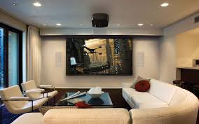 interior design architecture modern spacious home cinema room