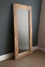 reclaimed wood wall large big mirror parquet mirrors reclaimed wood wall mirror large