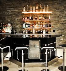 Bar Wall Shelves by Led Floating Shelves Blog Customized Designs