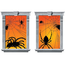halloween window silhouettes image gallery of halloween window silhouettes spider