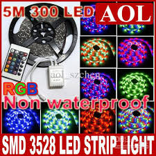 smd 3528 rgb multi color led light non waterproof