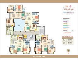 1140 1899 sq ft u2013 2 u0026 3 bhk multistorey apartment in ulkanagari