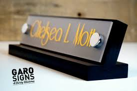 Customized Desk Accessories by Custom Desk Name Plates Best Home Furniture Decoration