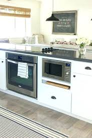 kitchen island with microwave microwave in island fishfedmyanmar