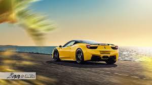 Ferrari 458 Yellow - ferrari 458 italia adv05 m v2 super light concave wheels adv 1