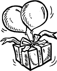 colorful birthday balloons coloring pages best place to color