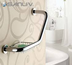 luxury grab bars and bathtub rails for bathroom safety