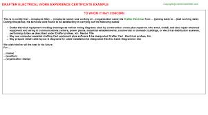 Civil Draughtsman Resume Sample by Cad Technician Resume Samplemechanical Drafter Resume Examples