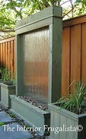 Water Features Backyard by A Water Curtain In Your Own Backyard Yes Oh Yes This Will