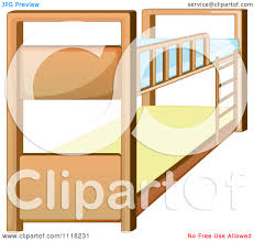 Cartoon Bunk Beds by Bunk Bed Clip Art Free Large Images