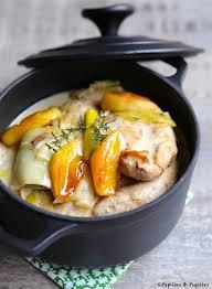 cuisiner blancs de poulet escalopes de poulet aux poireaux pommes et cidre