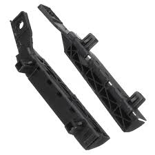 nissan versa muffler cost pair bumper bracket front left and right black for nissan versa