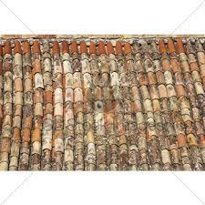 Mediterranean Roof Tile Old Roof Tiles Gl Stock Images