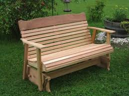 Free Wood Glider Bench Plans by Incredible Wooden Bench Outdoor Furniture Double Chair Bench With