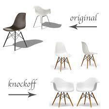Molded Plastic Armchair Original Vs Knockoff Eames Molded Plastic Chairs Life In Sketch
