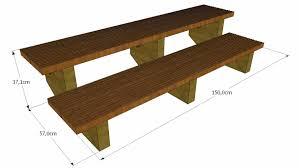 limon d escalier en bois kit escaliers ipé largeur 150 cm boutique alsace terrasse