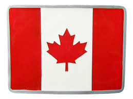 Canada Flag Colors Canada Flag Belt Buckle Canadian Canadien Red Maple Leaf Flags