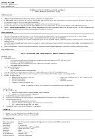 Sample Resume Of Accountant by Download Accountant Resume Haadyaooverbayresort Com