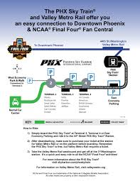 Phoenix Airport Gate Map by Phx Ready For Final Four Teams