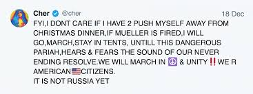 mueller madness cher vows to save the world patricia arquette