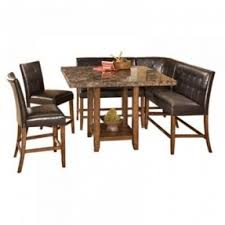 faux marble dining table set foter