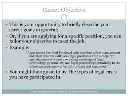 pretentious paralegal resume objective 10 legal secretary entry