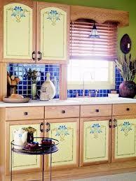 Kitchen Cabinet Design Images 9 Best Stenciled Kitchen Cabinets Images On Pinterest Cupboards