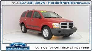 used 2005 dodge durango sxt for sale in port richey fl near