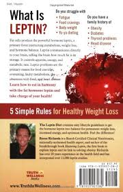 leptin diet take charge byron j richards 9781933927282