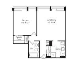 Waterfront Floor Plans Modern Renovated Rentals In Dc The View At Waterfront