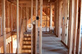 framed building or residential home with basic electrical wiring