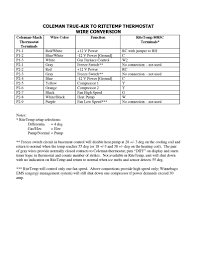 true air replacement thermostat page 2 winnebago owners online