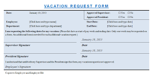 vacation request template microsoft word templates