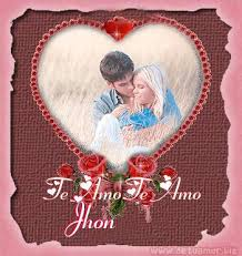 imagenes que digan te amo jhon te amo jhon eres el amor de mi vida te dedico esta pagina