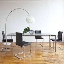 Kasala Modern Bold Glass Extension Dining Table Modern - Modern furniture seattle
